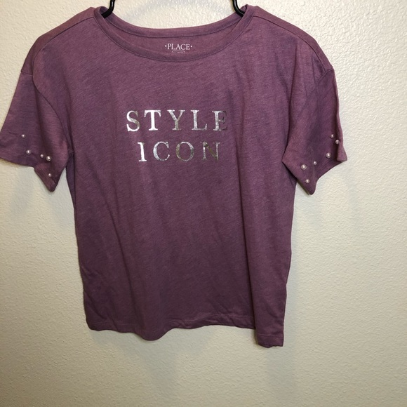 """Children's Place """"Style Icon"""" Girls Top Size 10/12"""